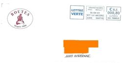 EMA HX 700015 Hérault Sur Env Illustrée Boutes Tonneau Barrique Tonnelier Vin Alcool Gironde - Postmark Collection (Covers)