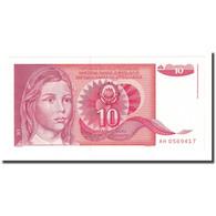 Billet, Yougoslavie, 10 Dinara, 1990-09-01, KM:103, NEUF - Yougoslavie