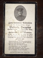 Sterbebild Wk1 Ww1 Bidprentje Avis Décès Deathcard RIR1 Tabarele St. Laurent Blangy Aus Adelstetten - 1914-18