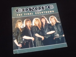 Vinyle 45 Tours   Europe   The Final Countdown   (1985) - Rock