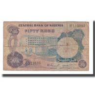 Billet, Nigéria, 50 Kobo, Undated (1973-78), KM:14A, B+ - Nigeria