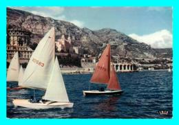 A770 / 143  MONTE CARLO Régates Devant Le Casino Et Tir Aux Pigeons - Monte-Carlo