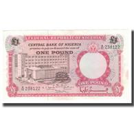 Billet, Nigéria, 1 Pound, Undated (1967), KM:8, SUP+ - Nigeria