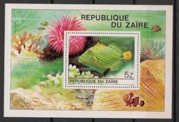 Zaire - 1980 - Bloc Feuillet N°Yv. 23 - Poissons / Fishes - Neuf Luxe ** / MNH / Postfrisch - Zaïre