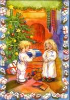 Carte Finlandaise De Noël Et Nouvelle Année - God Jul Och Gott Nytt Ar - Tampereen Paperikonttori Oy. Finland - 6353 - Santa Claus