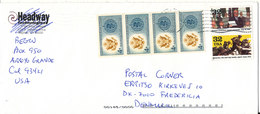 USA Cover Sent To Denmark 26-2-2002 Topic Stamps Malaria - Cartas