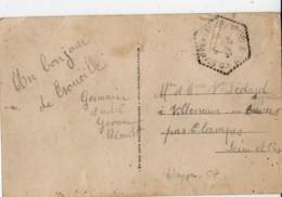ETAMPES CP N° 16(?) Villeneuve Sur Auvers En Arrivee 1937, Vue TROUVILLe Place Du Casino - Poststempel (Briefe)