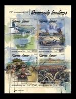 Sierra Leone 2019 Mih. 10523/26 World War II. Normandy Landing MNH ** - Sierra Leone (1961-...)