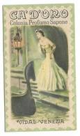 """CARTA PROFUMATA """"CA'D'ORO""""VIDAL VENEZIA  -2-0882-28929 - Perfume Cards"""