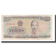 Billet, Viet Nam, 1000 D<ox>ng, 1988, KM:106a, TB+ - Viêt-Nam