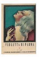"CARTA PROFUMATA ""VIOLETTA DI PARMA "" COMM.BORSARI E FIGLI PARMA  -2-0882-28931 - Cartes Parfumées"