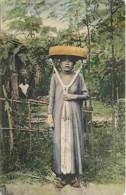 Vietnam - Tonkin - Type De Femme Tonkinoise - Animée - Colorisée - Précurseur - Voir Scans Recto-Verso - Viêt-Nam