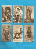 Lotto 6 Santini Santi Vari Serie EB Seppia Fustellati Numeri 178, 199, 349, 196, 209, 223 - Religion & Esotericism