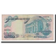 Billet, South Viet Nam, 1000 D<ox>ng, Undated (1971), KM:29a, TB+ - Viêt-Nam