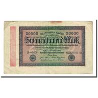 Billet, Allemagne, 20,000 Mark, 1923-02-20, KM:85a, TB - 20000 Mark