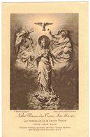 NOTRE DAME DES TROIS AVE MARIA IMAGE PIEUSE HOLY CARD SANTINI PRENTJE - Andachtsbilder
