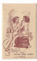 """CARTA PROFUMATA """"SONIA""""CANTELE PADOVA DONNINA AL TRUCCO-2-0882-28933 - Perfume Cards"""