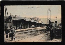 France-Longwy/Bas La Gare Railway Depot 1908 - Antique Postcard - Francia