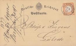 DR Karte EF Minr.18 K1 Bergedorf 11.3.73 - Deutschland