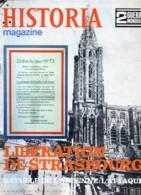 HISTORIA 2 ° Guerre Mondiale N° 84 Militaria Bataille De L Ardenne , Libération De Strasbourg , Dégager Anvers - Histoire