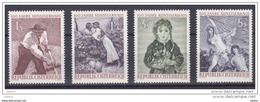 Oostenrijk 1961 Nr 927/30 **, Zeer Mooi Lot Krt 3612 - Collections (sans Albums)
