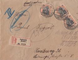 DR R-Brief Mef Minr.3x 89II Neukloster (Mecklb.) 9.10.20 - Briefe U. Dokumente