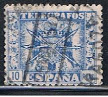 (3E 154) ESPAÑA  // YVERT 95 // EDIFIL 92 // 1949-51 - Télégraphe
