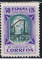 (3E 141) ESPAÑA  // YVERT 65 // EDIFIL 28 // 1938 - Beneficiencia (Sellos De)