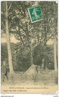 03.FORET DE TRONCAIS.N°2786.LOGE DE CHARBONNIER,FOND MIRAUT.CP CASSEE - France