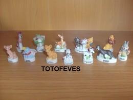 SERIE COMPLETE ANIMAL FRIENDS DE 12 FEVES N°330 - Fèves