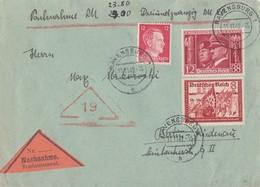 DR NN-Brief Mif Minr.763,774,788 Ravensburg 11.11.42 - Briefe U. Dokumente