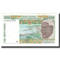 Billet, West African States, 500 Francs, 1997, KM:910Sa, TTB+ - West African States