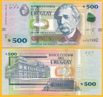 Uruguay 500 Pesos Uruguayos P-93 2014 (Serie E) UNC - Uruguay