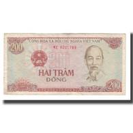 Billet, Viet Nam, 200 D<ox>ng, 1987, KM:100a, TB+ - Viêt-Nam