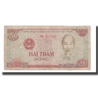 Billet, Viet Nam, 200 D<ox>ng, 1987, KM:100a, B+ - Viêt-Nam