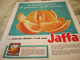 ANCIENNE PUBLICITE ORANGE JAFFA 1964 - Affiches