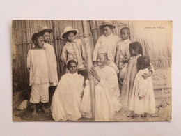 C. P. A. : Madagascar, Joueurs De VALIHA, Imprimerie Bachèl, Tamatave - Madagascar