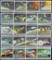 FUJEIRA  1972 - MiNr. 957-976 20 Werte  Komplett - Raumfahrt