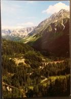 Ak  Eisenbahn,railway - Albulabahn Zwischen Bergün Und Preda - Schweiz - Eisenbahnen