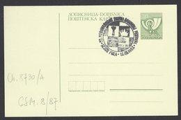 Chess, Yugoslavia Pula, 18.05.1987, Special Cancel On Card, International Youth Team Festival - Schach