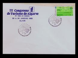 ALGARVE's Tourisme Fair And Congress Vacances Vacaciones Hollydays Portugal Alvor Pmk 1983 Coat Of Arms Brasons Gc3885 - Holograms