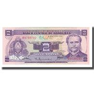 Billet, Honduras, 2 Lempiras, 1976, 1976-09-23, KM:61, NEUF - Honduras