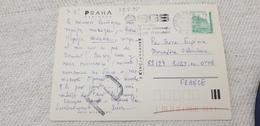 CONTROLA KVALITY SGS CZECH REPUBLIC Ceska Praha 1995 Isolated Used On Cover Postcard - Repubblica Ceca