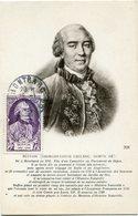 FRANCE CARTE MAXIMUM DU N°856 BUFFON OBLITERATION MONTBARD 26-1-1949 COTE D'OR - Maximum Cards