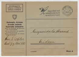 POSTA  MILITARE      FELDPOST   (1945)       (VIAGGIATA) - Posta Militare