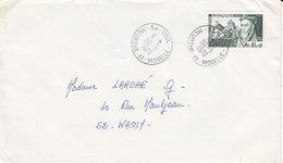 N° 1625 ,Philibert De L'Orme Sur Lettre De 1970 - Marcophilie (Lettres)
