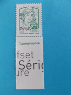 TIMBRE,No;4774Bc, MARIANNE De CIAPPA Et Kawena SURCHARGE,Lettre Verte,impression TYPOGRAPHIE XX,timbre Bon état - 2013-... Marianne Of Ciappa-Kawena