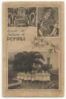 Ricordo Del Santuario Di Pompei #Cartolina #Santuario #Santino #Madonna - Pompei