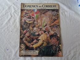DOMENICA DEL CORRIERE - ANNO 64 - N. 33 - 19 AGOSTO 1962 (IL TRAFORO DEL MONTE BIANCO) LEGGI - Kino