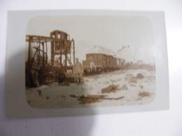CPA Photo Sommepy La Gare  écriture En Allemand  Au Dos 1916 Non Voyagée - France